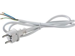 сетевой кабель с прямой евровилкой, земля, 1.5 м